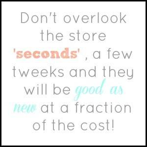 store seconds