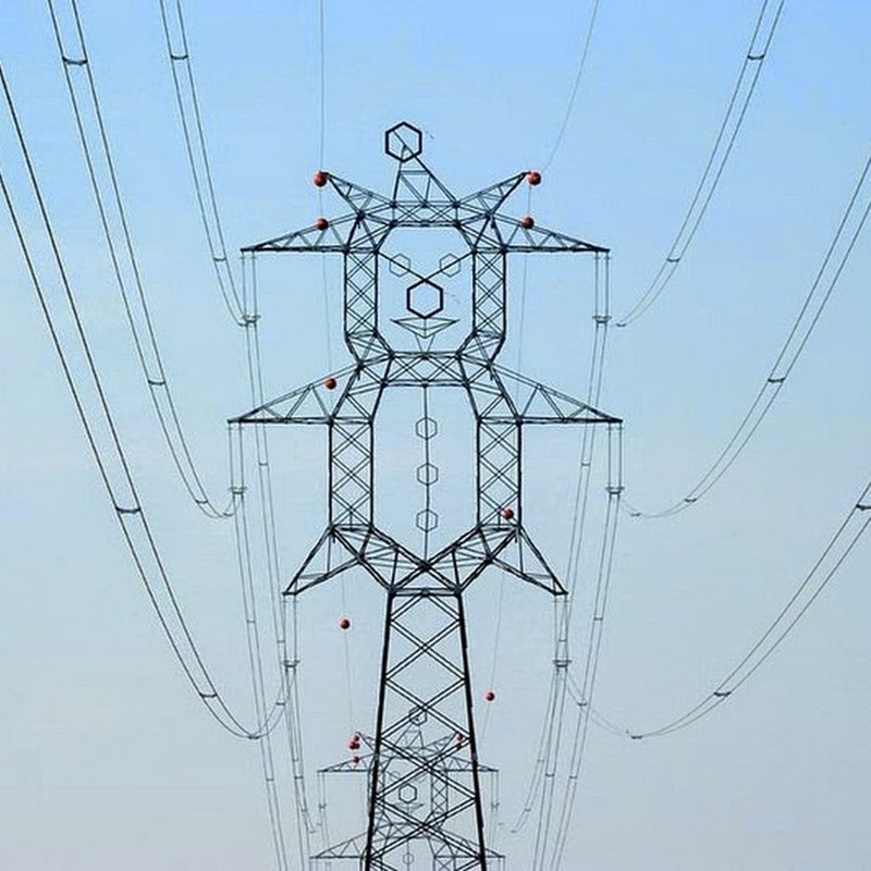 Playful Electrical Pylon Designs