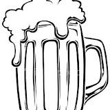 Dibujos De Jarras De Cerveza Para Colorear