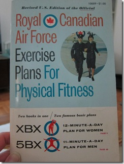 royal canadian air force 5bx exercise program pdf