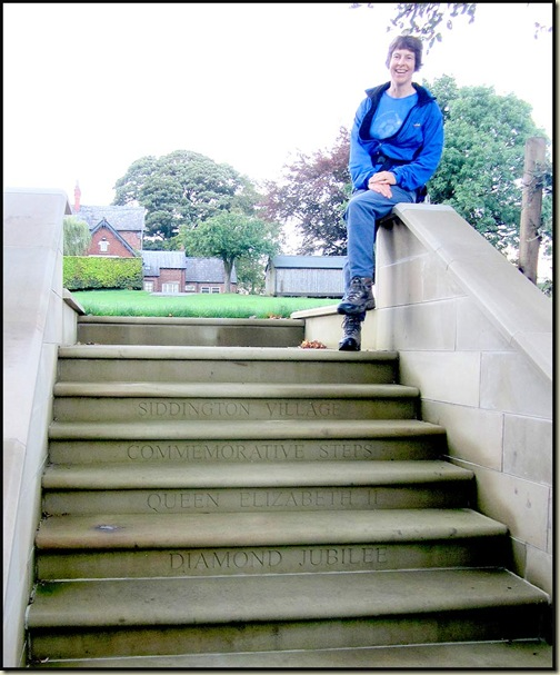 The diamond jubilee steps at Siddington