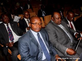 Des membres des partis politiques, lors d'un forum organisé par la Ceni le 8/9/2011 à Kinshasa. Radio Okapi/ Ph. John Bompengo