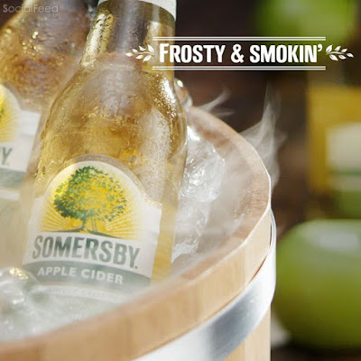 Perfect way to serve it: Smokin' cold Somersby tastiest