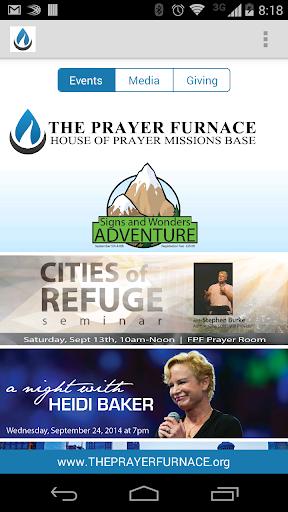 Fredericksburg Prayer Furnace