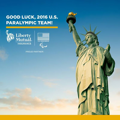 Good luck to the 2016 US Paralympic Team Were proud to insure