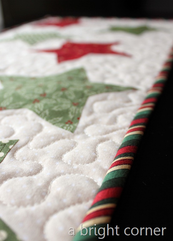 christmas table runner 4