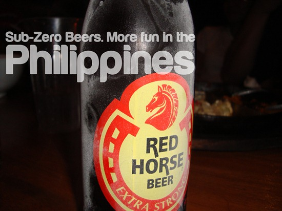Sub-Zero Beers. More Fun in the Philippines