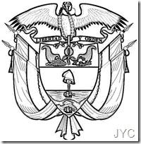 Escudo Nacional De Colombia Para Colorear Jugar Y Colorear