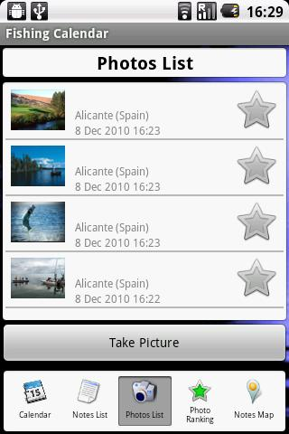 Fishing Calendar - screenshot
