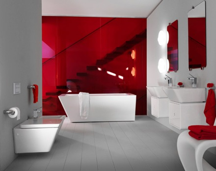 baños-diseño-color-rojo