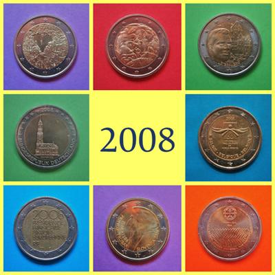 2008 2 Euros