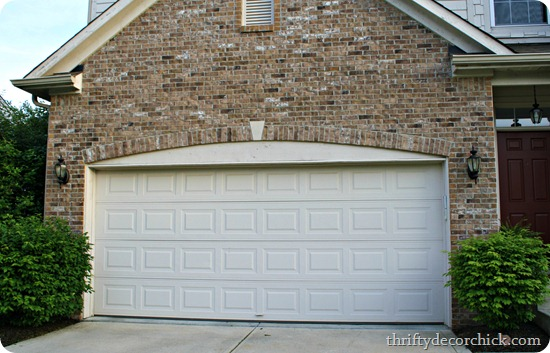 updating plain garage door