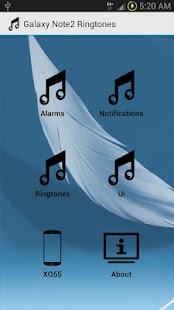 Galaxy Note2 Ringtones
