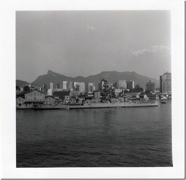 July 9, 1952 Rio de Janeiro, Brazil - View from the S.S. Brazil