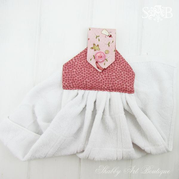 Shabby Art Boutique hand towel 7