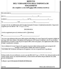 image_thumb Modulo rifiuto pagamento tassa di soggiorno