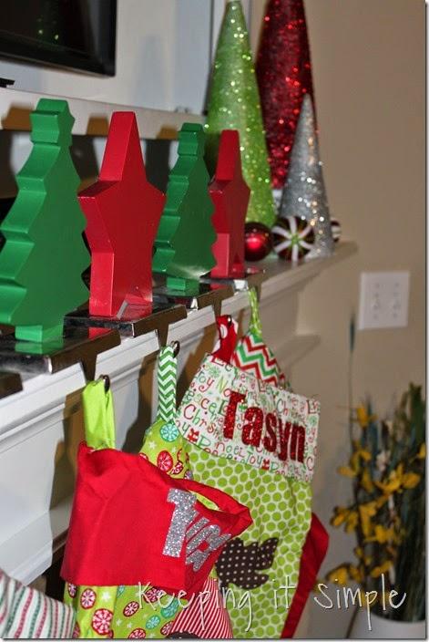 Glitter styrofoam cone Christmas Trees (15)