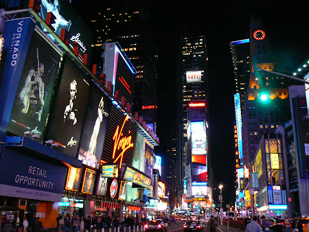 Obiective turistice New York: Times Square - New York