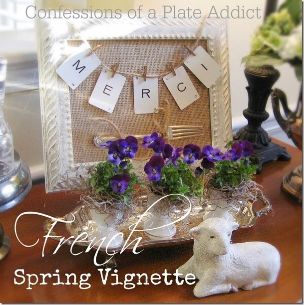 CONFESSIONS OF A PLATE ADDICT French Spring Vignette