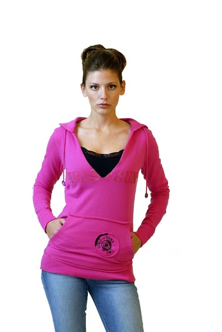 射击衬衫 - 粉红色女孩 - 带枪 - 服装衬衫_2_.jpg