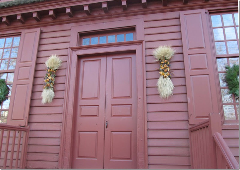 Colonial Williamsburg Decorated for Christmas