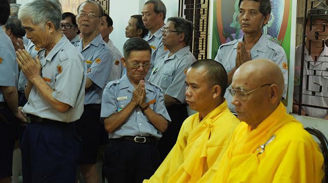 DSC06354 Lễ Hiệp kỵ   Lễ Huý Nhật Cư sĩ Sáng lập viên GĐPT Việt Nam   Tâm Minh Lê Đình Thám