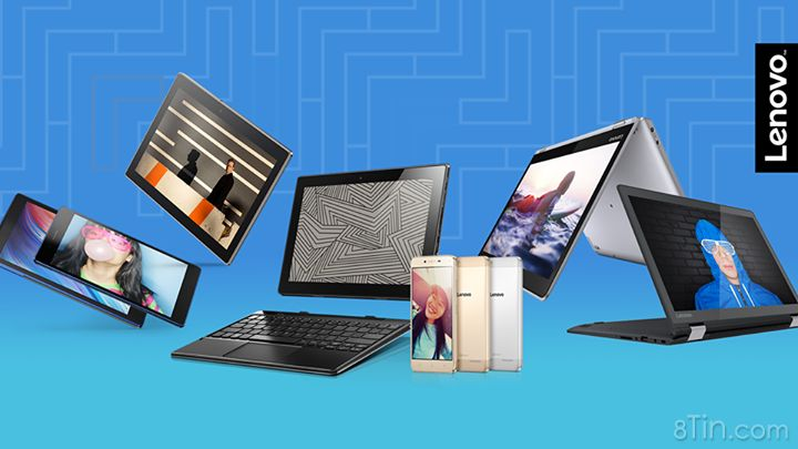 Các sản phẩm laptop, tablet và phone được Lenovo giới thiệu tại