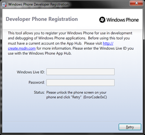 Anthony Baker: How to Register Your Windows Phone