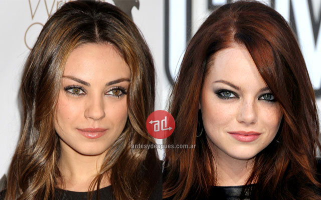 Celebrity Look-alikes: Mila Kunis Emma Stone