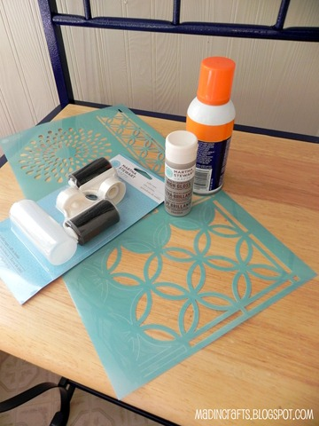 martha stewart paints and stencils