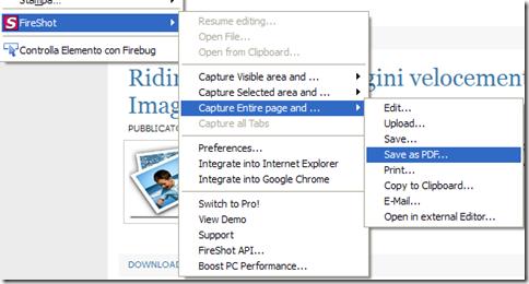 FireShot su su Firefox