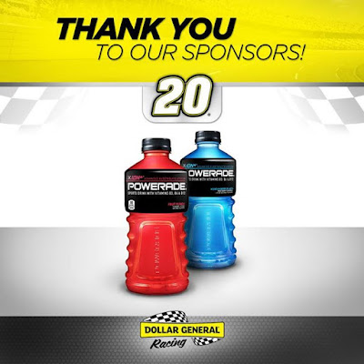 Stay hydrated and save when you support Dollar General Racing sponsors