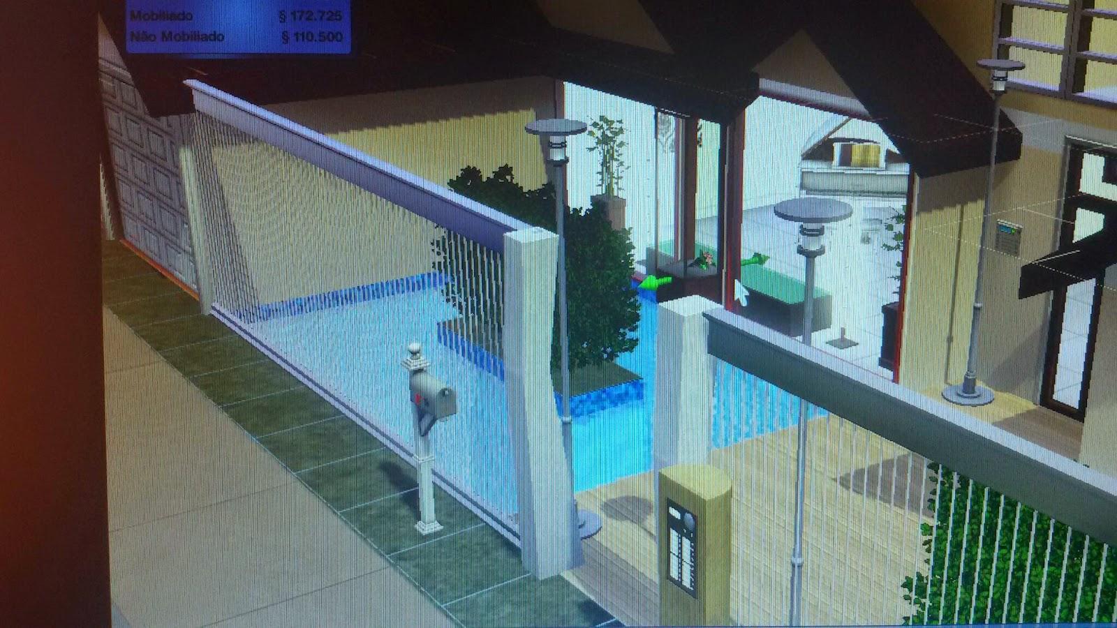 Njr arquitetura casa the sims 3 for Casa moderna los sims 3