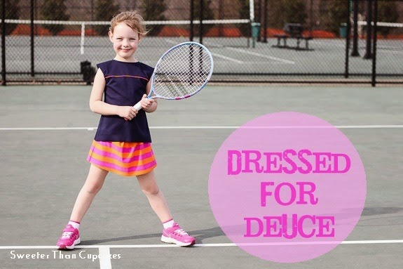 Flip this Pattern - Colorblock Dress to Tennis Outfit