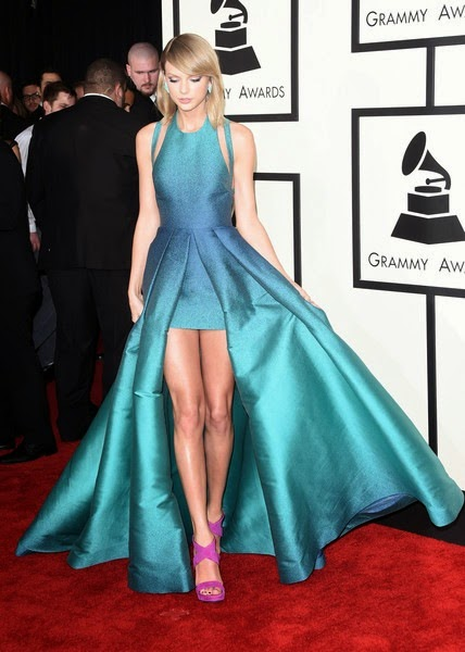Taylor Swift attends The 57th Annual GRAMMY Awards