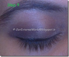 step 9 - brown smokey eyes with winged liner
