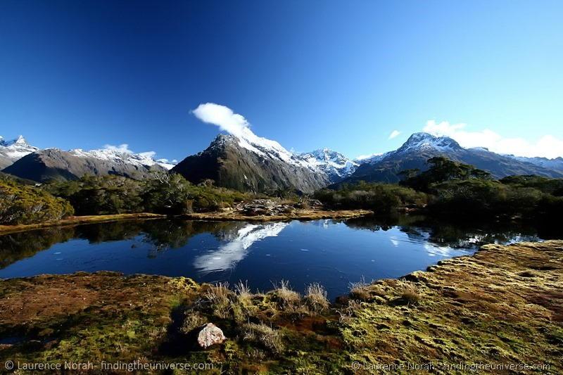 Alpine lake reflection scaled