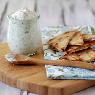 Tzatziki - Greek Yogurt and Cucumber Dip.