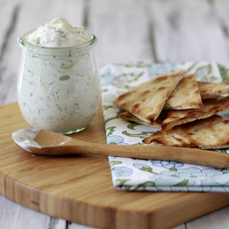 Tzatziki - Greek Yogurt and Cucumber Dip Recipe