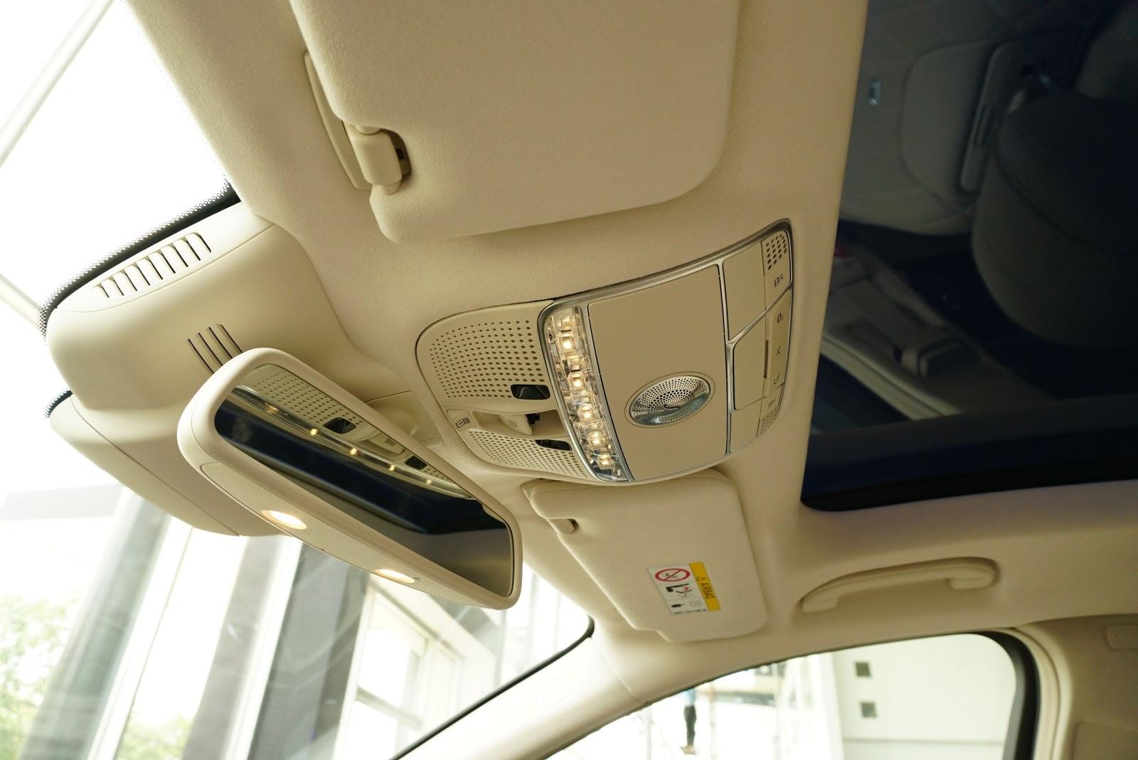 Nội Thất Xe Mercedes Benz S600 MAYBACH Màu Đen 010