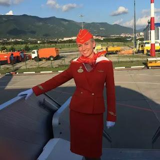 Nữ chiêu đãi viên người Nga Tatyana Kasatkina, 34 tuổi của chuyến bay Sukhoi SSJ100 định mệnh.