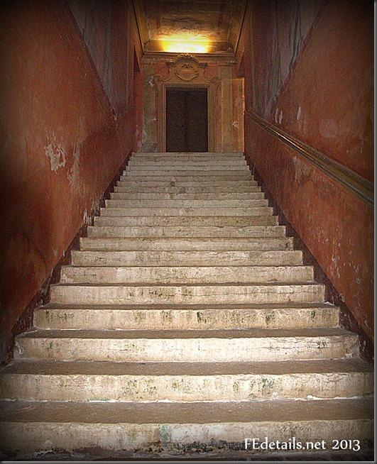 Scala del Magno Salone di Belriguardo, Ferrara - Staircase of Magno Hall of Belriguardo, Ferrara, Italy