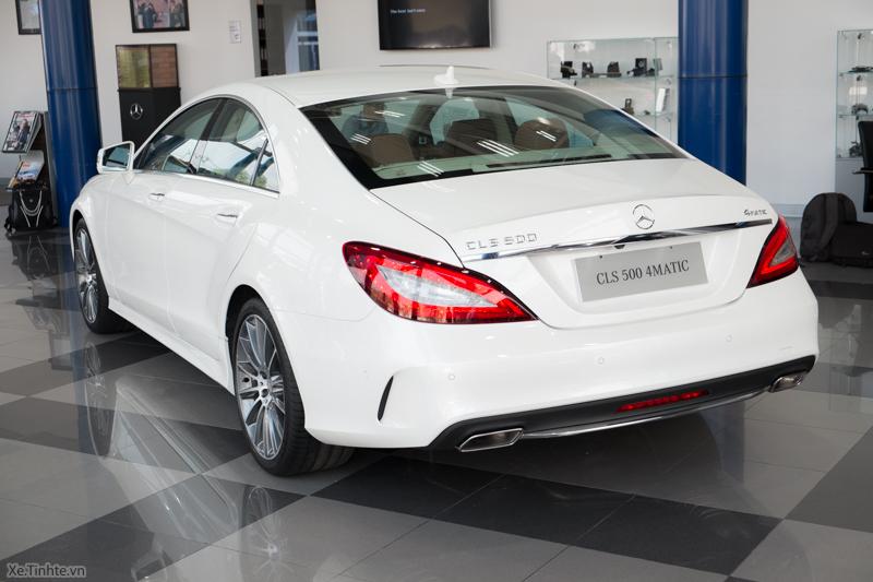 Xe Mercedes Benz CLS500 New Model màu trắng 09