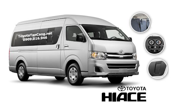 gia xe toyota hiace 2015 - Kỷ niệm 20 năm thành lập khuyến mãi lớn khi mua xe tại Toyota Hùng Vương - Muaxegiatot.vn