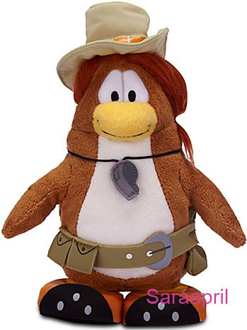 PH the Puffle Handler Penguin Plush Toy :)