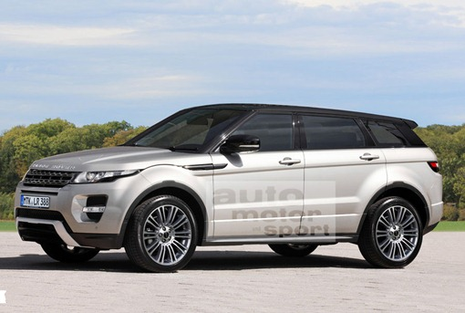 autos and vehicles rendering mini range rover evoque under 4 meters in length. Black Bedroom Furniture Sets. Home Design Ideas