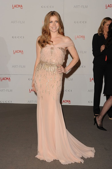 Amy Adams LACMA Art Film Gala 2011 Arrivals