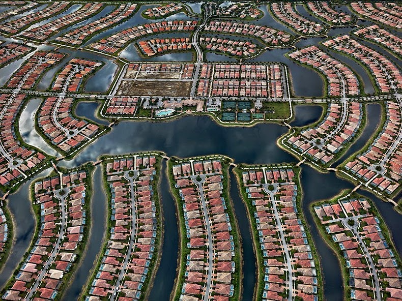 Ed Burtynsky S Aerial Pictures Of Watery Landscape