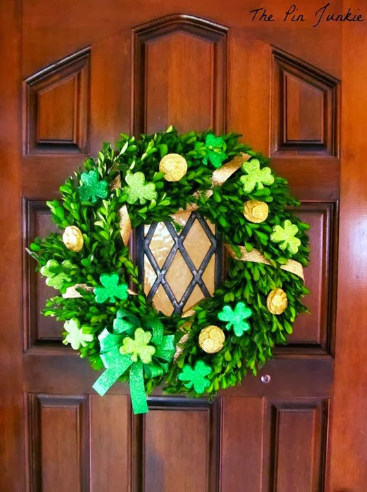 st patricks day wreath 2