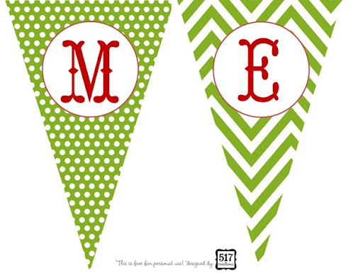 picture about Printable Christmas Banner known as 517 creations: 31 times of warming up in direction of the holiday seasons: working day